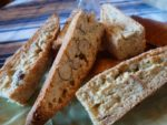 Biscotti on a plate
