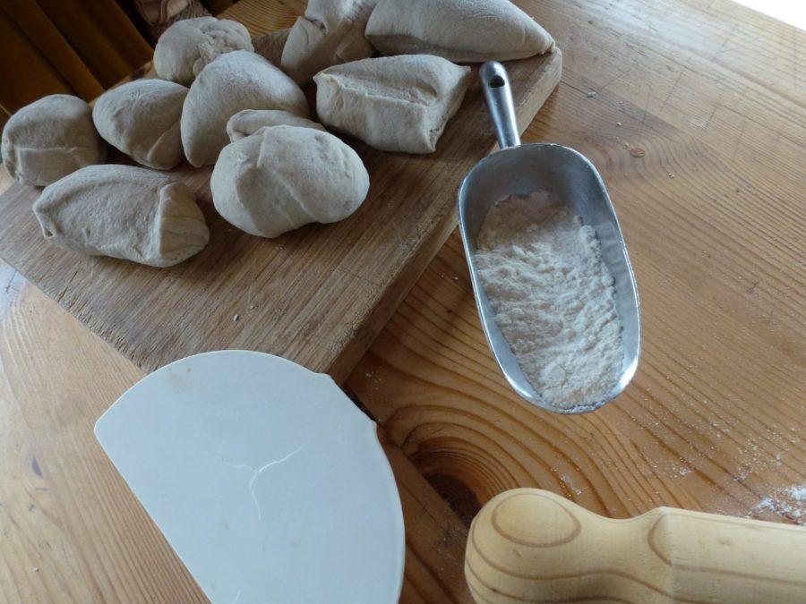 Dough balls for tortillas