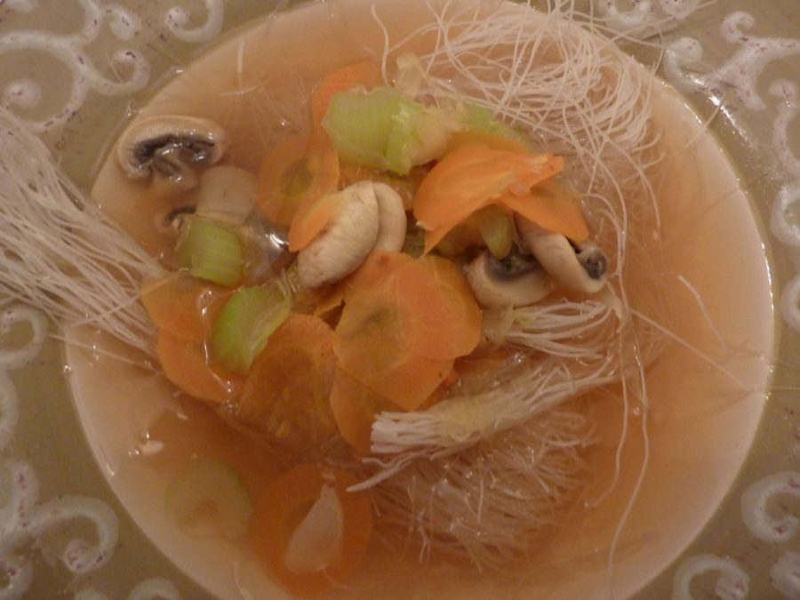 Asian Style Vegetable Soup