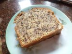 Banana Nut Loaf Bread slice