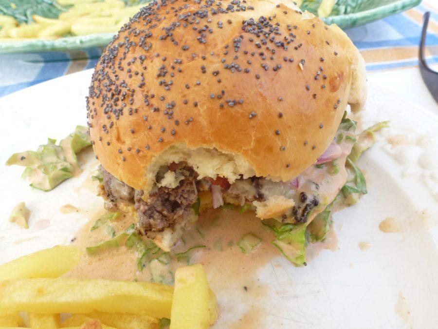 Jamies insanity burger