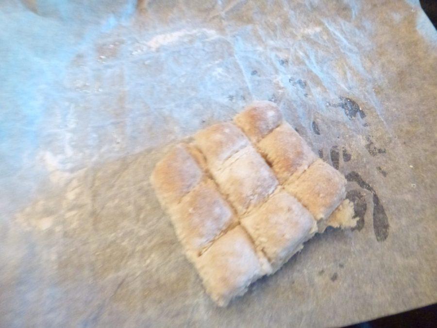 Fondue brood eronder