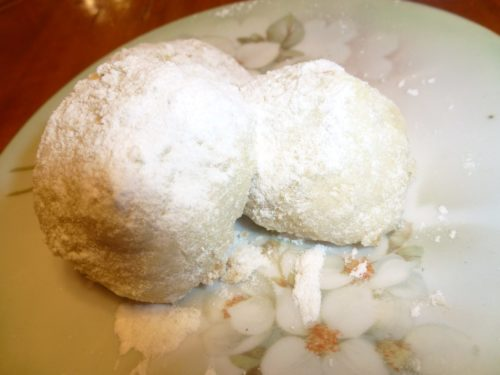 Italiaanse Butter Ball Cookies