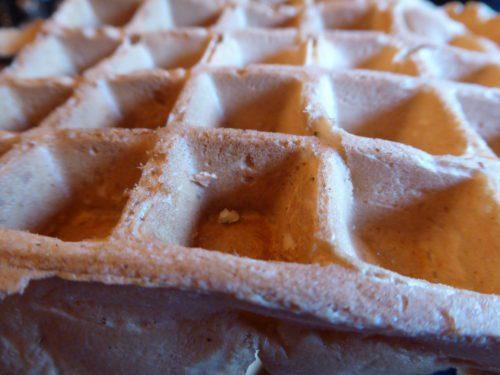 Vegan waffle