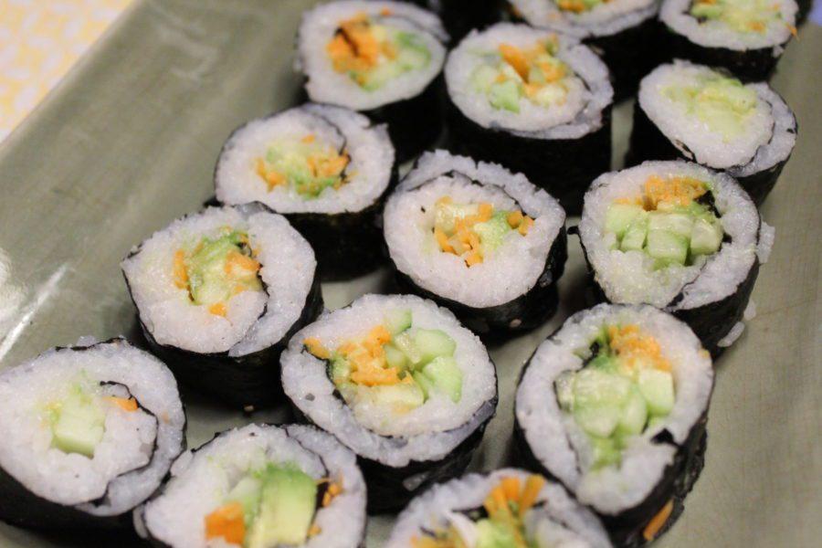 sushi par clara