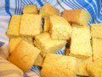 pan de maíz vegetariana - mantequilla sin, sin leche, sin huevos