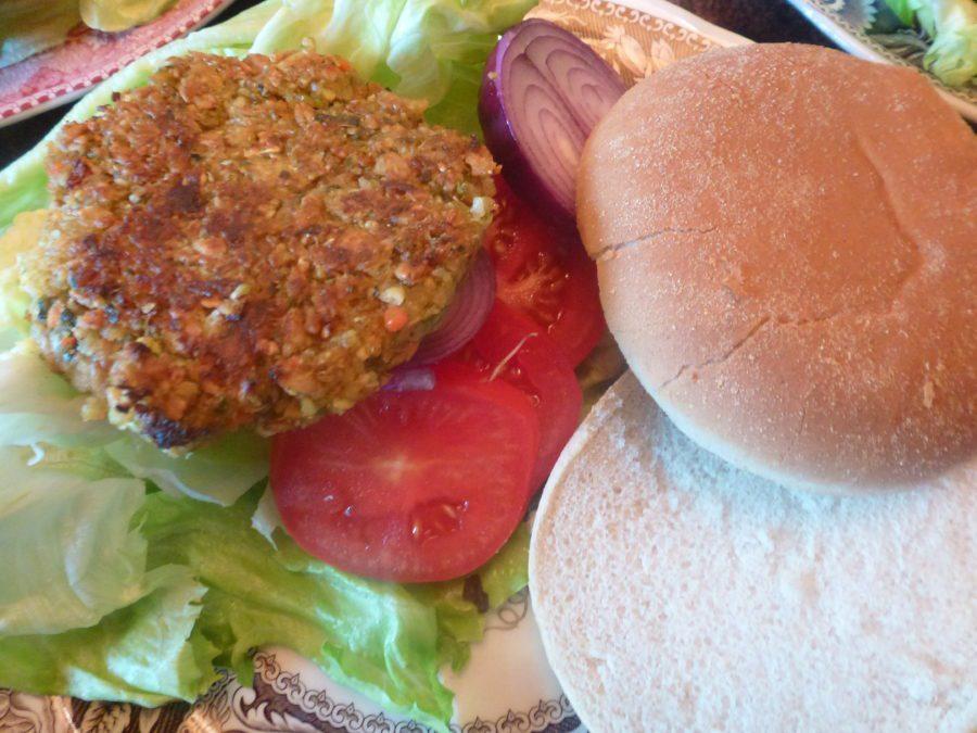 de beste veggie hamburger!