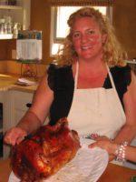 Rochelle with Turkey
