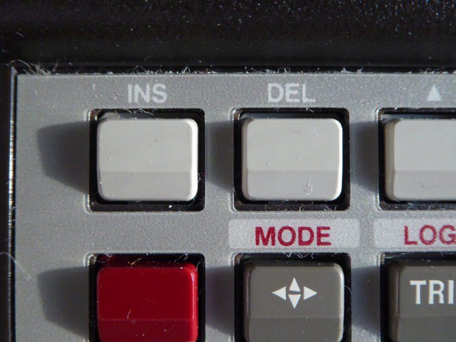 HP insert and delete button