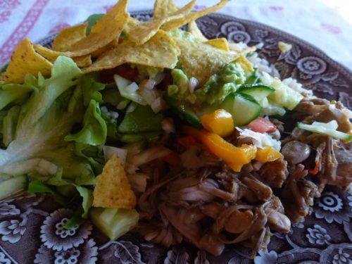 vegan salad in recipe