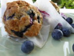 delicious blueberry muffin