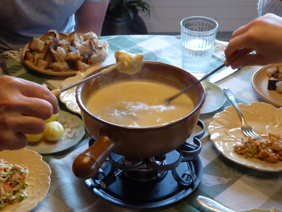 look at the creamy finished fondue