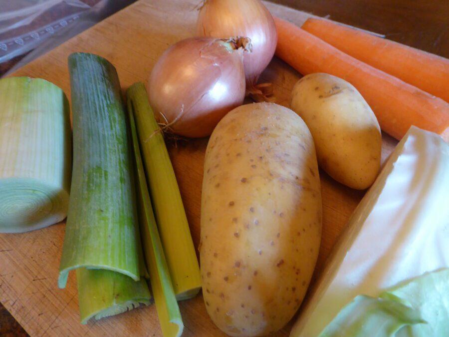 verdure usate per il ripieno di springroll