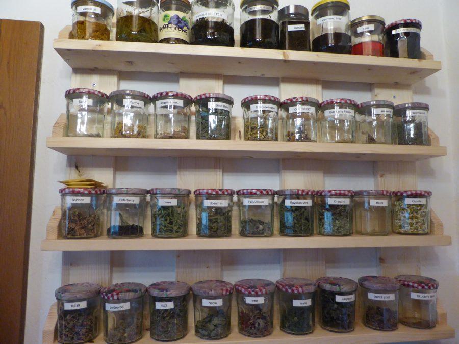 Today's tea shelf