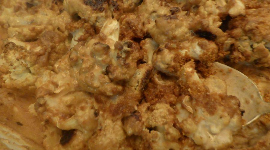 The Creamy Vegan Cheesy Cauliflower Bake