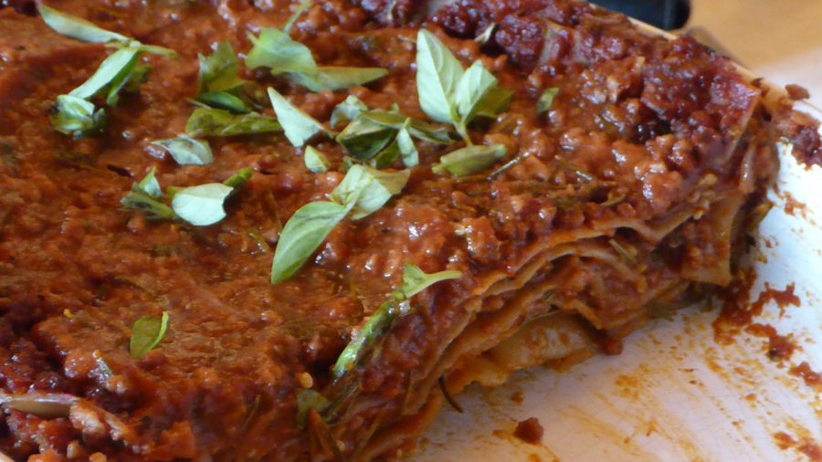 Delicious Vegan Lasagne