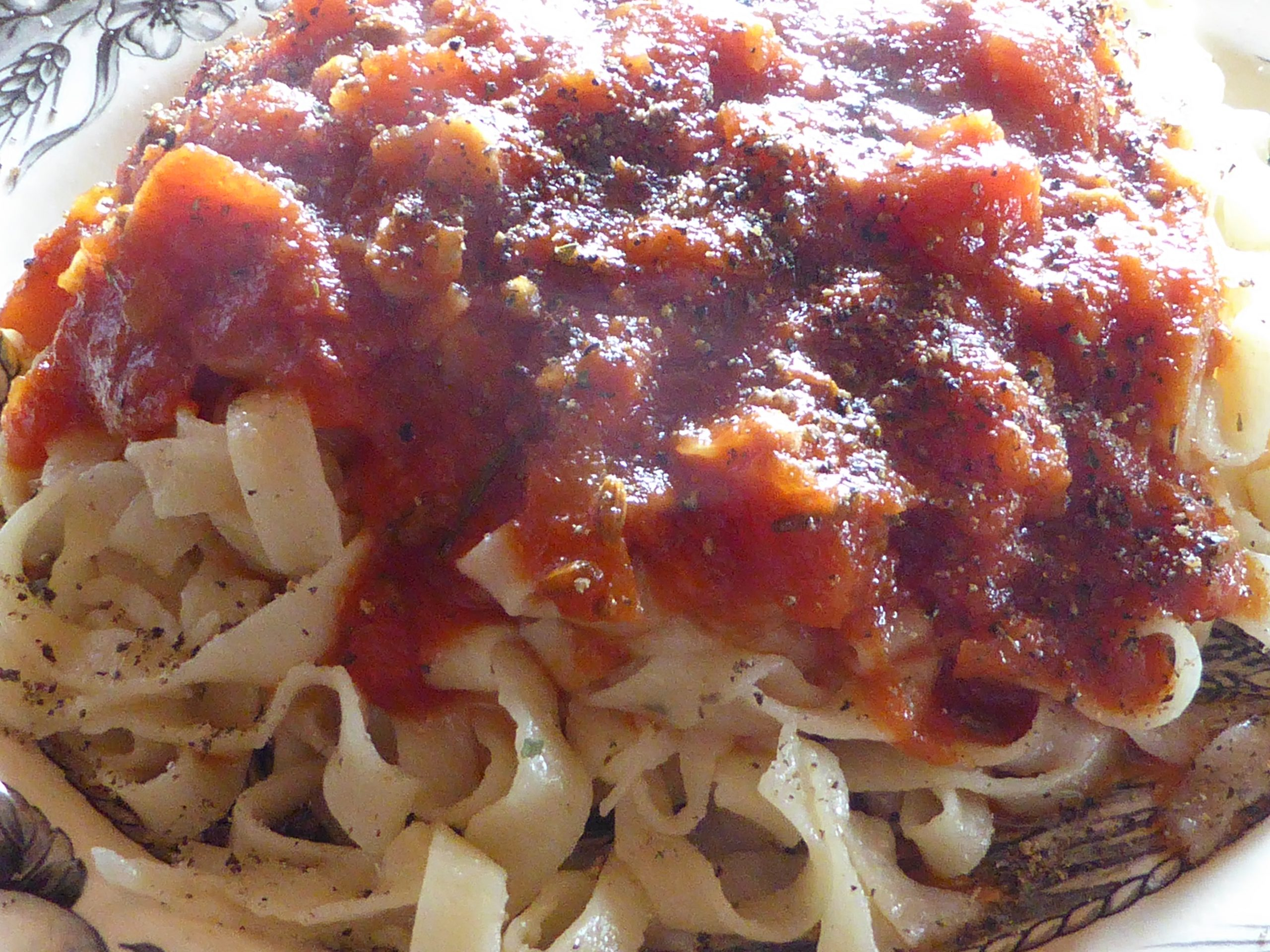 vegan pasta...hand made!