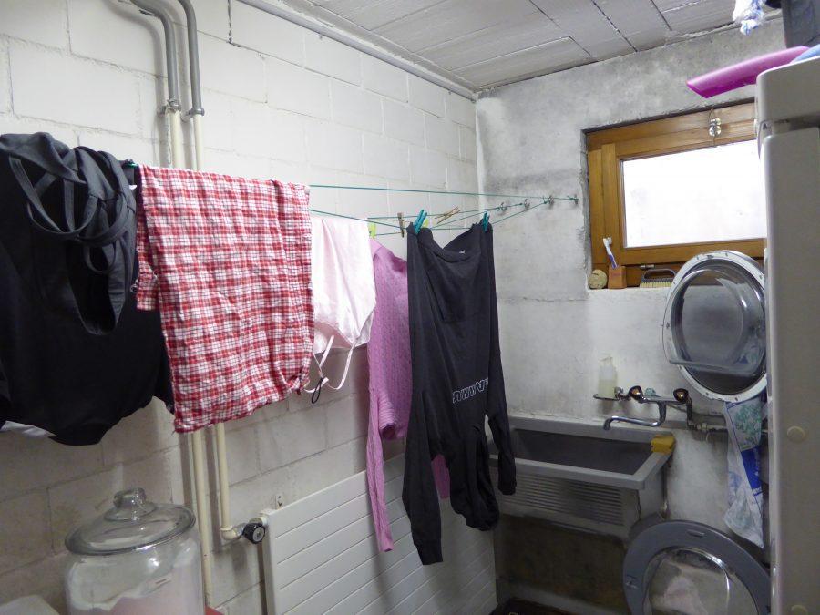 basic indoor washing room