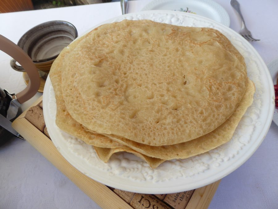 finished crepes
