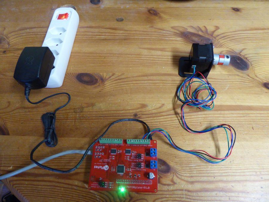 Minimal config, VNCServer running on raspberry Pi