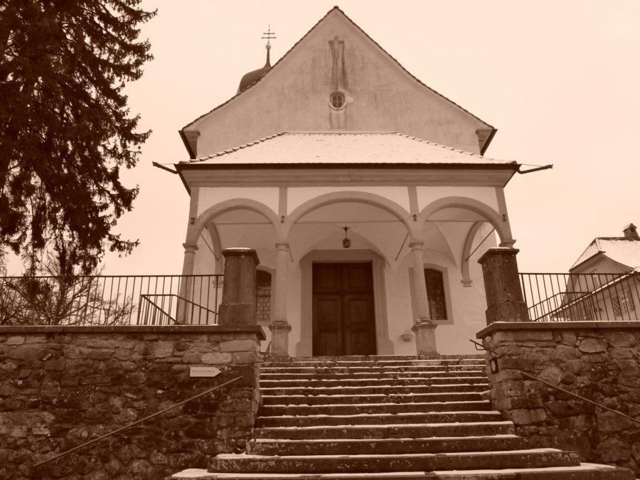 1,000 year old church in Oberschongau