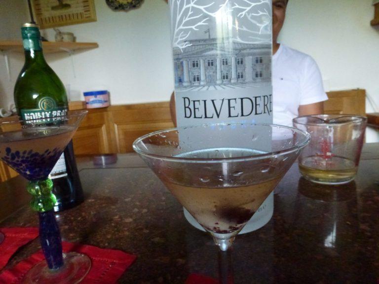 6 Liter Vodka bottle