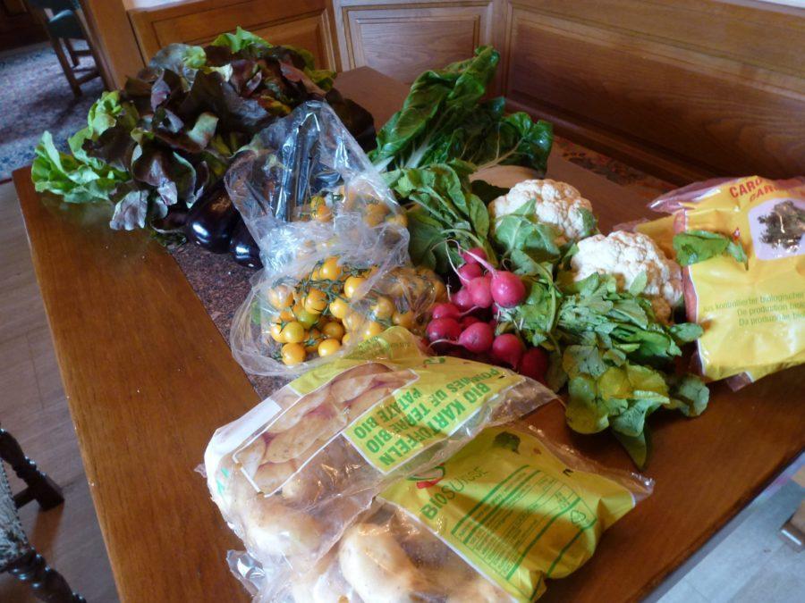 spring organic vegetable delivery spring
