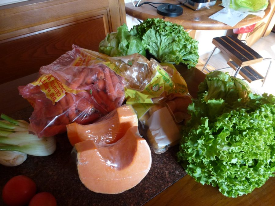 fall organic vegetable delivery