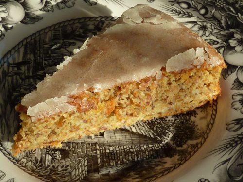 Gâteau aux carottes sans farine