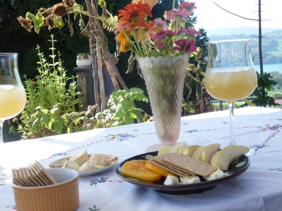 Make it a French Day with some cheese and a Wiskey Sour, since vine isn't quite enough