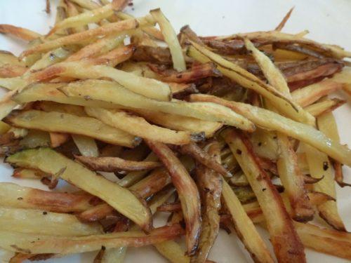 ajo abajo-hogar papas fritas