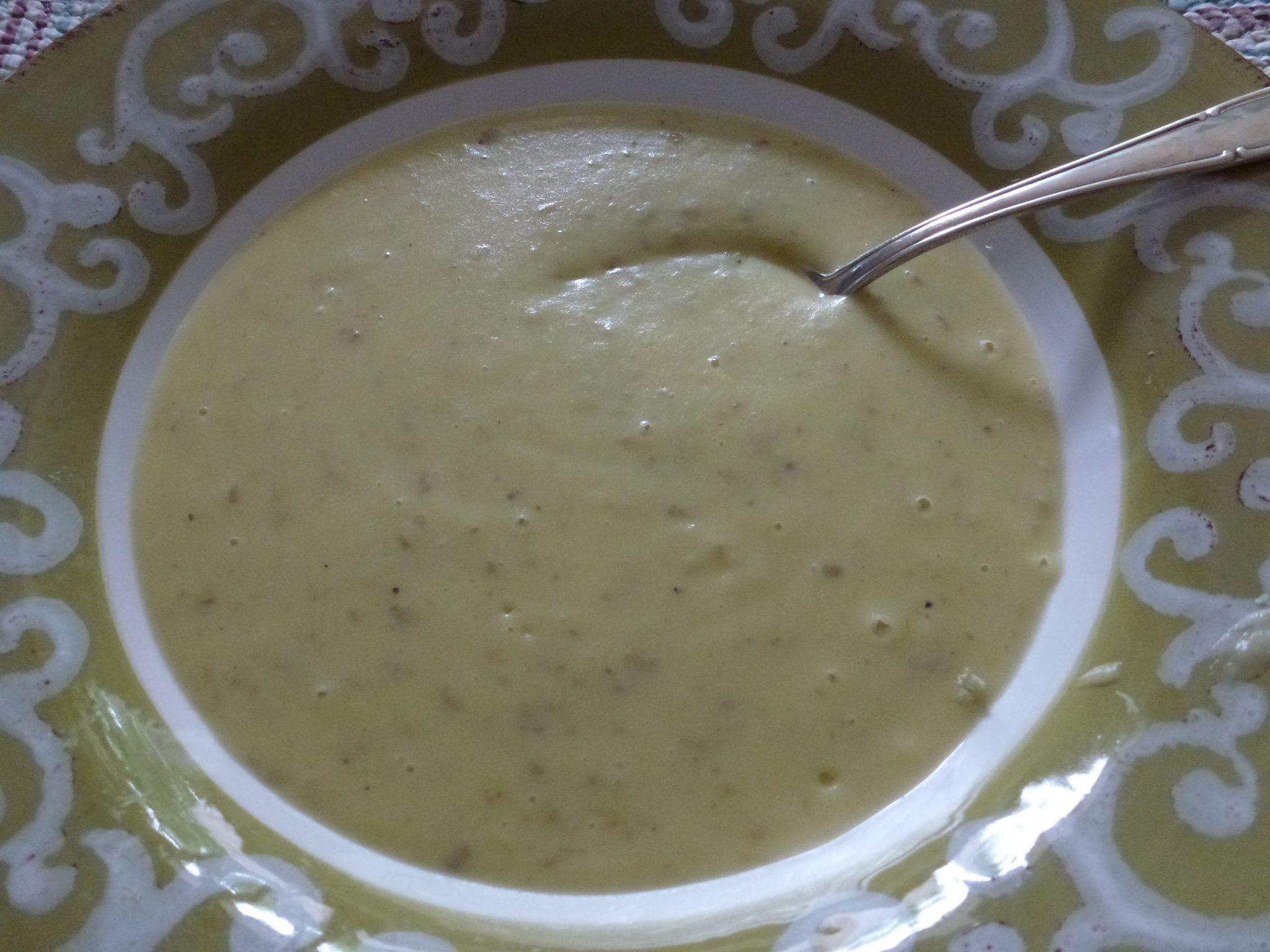 soupe de poireau pomme de terre