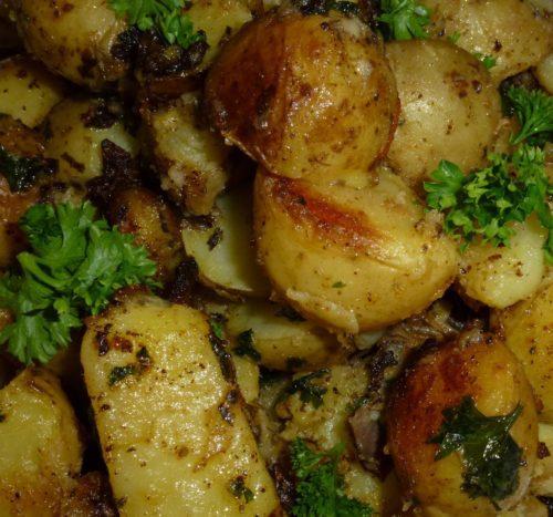 patatas asadas horno