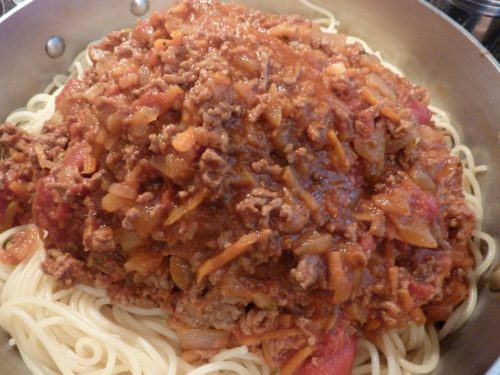 Spaghetti grands-parents Joanne
